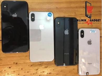 Iphone X 256GB ORIGINAL SECONDHAND free gift