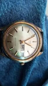 Vintage antik jam tangan automatic TIMEX