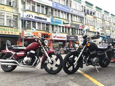 Keeway eagle 250cc (Free Apply) Termurah