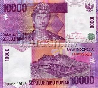 INDONESIA 10000 Rupiah 2009 P-143 UNC