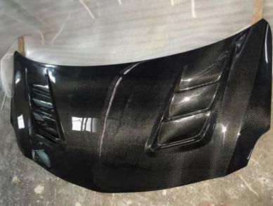 Toyota vios ncp93 carbon bonnet cf hood bodykit