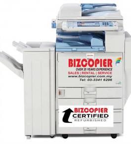 Mesin fotostat color ricoh MPC3501 copy print scan