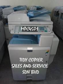 Mpc4501 color photocopier machine for sale