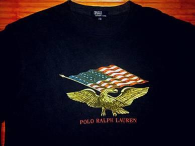 Authentic PRL AMERICAN EAGLE FLAG SzL Shirts