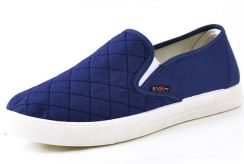 R0248 Blue Simple Slip On Men Casual Loafer Shoes