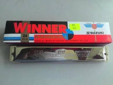 Suzuki Winner Harmonica Key C With 24 Holes