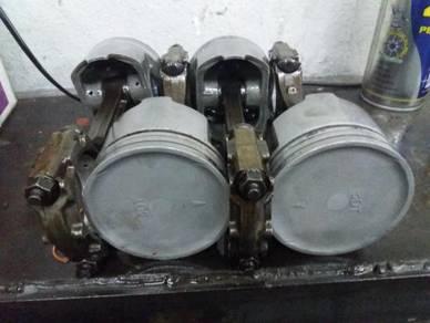 Piston terpakai used VR4 EvO GSR 4G63 4G93T OEM