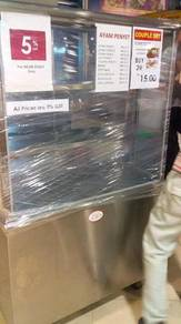 4FT Stainless Steel Food Stall TH781