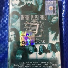 119 Kaset koleksi pop rancak cassette not ep lp