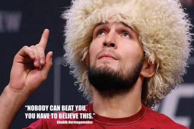 POSTER Khabib Nurmagomedov V 2 UFC