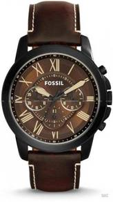 FOSSIL FS5088 Men's Grant Chronograph Leather