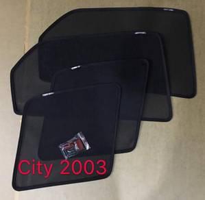 Honda city 2003 to 2008 oem sun shade magnet
