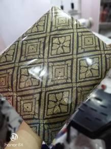 Sampin Songket Hitam emas Black gold Samping