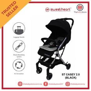 Sweet Heart ST Casey 2.0 Compact Stroller - Black