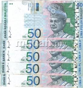 Duit Lama RM50 Ahmad Don