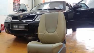 Waja semi leather seat cover