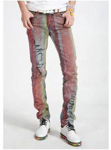 Hairstylist casual jeans pants