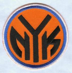 NBA New York Knicks Basketball Embroidered Patch