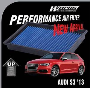 AUDI S3 2013 WORKS ENGINEERING Drop In Air Filter