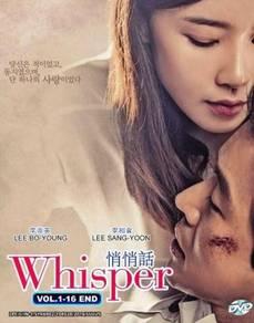 KOREA DRAMA DVD WHISPER (Malay sub)