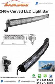 4X4 LED Sport Light Bar CURVED 42
