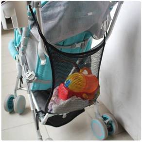 Baby Stroller Diaper Hanger Storage Net Bag