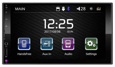 7-inch 2 Din mp5 car player TFT led touch panel