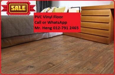 Modern Design PVC Vinyl Floor - With Install h56t