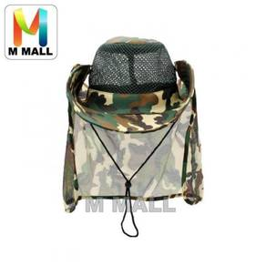 Camo fishing hat / topi 04