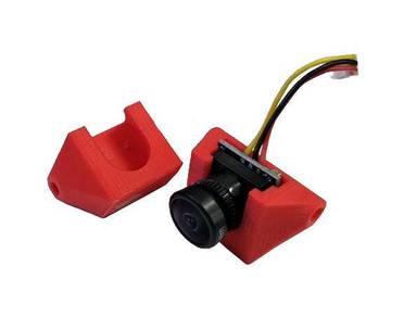 1 Pc Runcam Nano Camera Mount (RED) for FPV Racing
