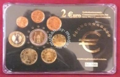 Euro Coin Set 2003 8 Value