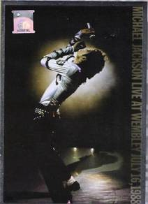 Michael Jackson Live At Wembley 1988 DVD