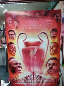 Poster liverpool champion europe 2019 diri