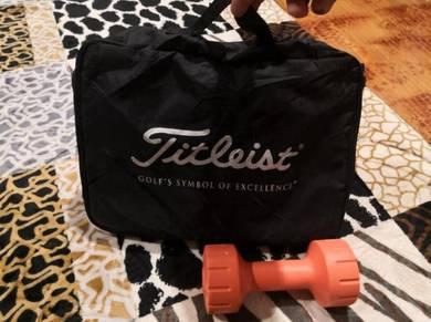 Mini bag golf Titleist black