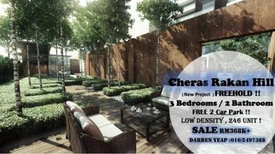 CHERAS RAKAN HILL NEW CONDOMINIUM [ FREEHOLD!! ] At SG.LONG CHERAS