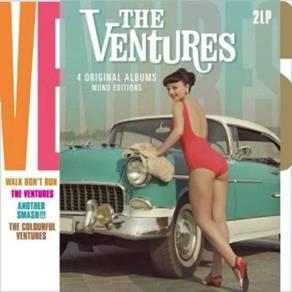 The Ventures 4 Original Albums Mono Editions DMM