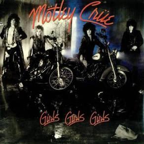 Motley Crue Girls, Girls, Girls 180g LP (Red Vinyl
