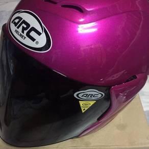 Helmet arc ritz purple