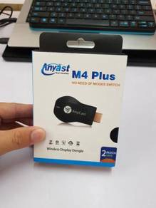 AnyCast M4 Plus 1080p HDMI Wifi Dongle 60fps
