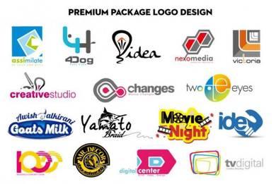 Customise logo design murah
