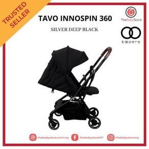 Tavo innospin 360 stroller - rose gold deep black