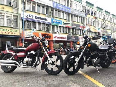 Keeway eagle 250cc (Promosi Free Apply)