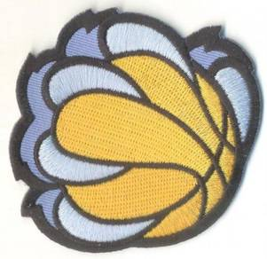 NBA Memphis Grizzlies Basketball Embroidered Patch