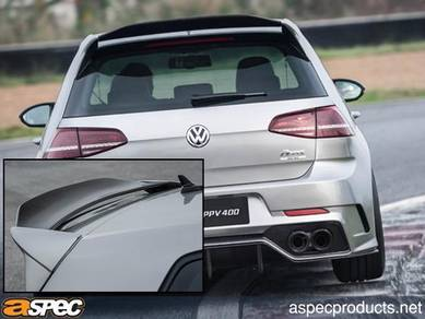 Volkswagen vw mk7 aspec carbon spoiler