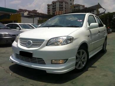 Toyota vios bodykit trd spoiler and paint body kit