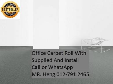 Office Carpet Roll Modern With Install 34w3g