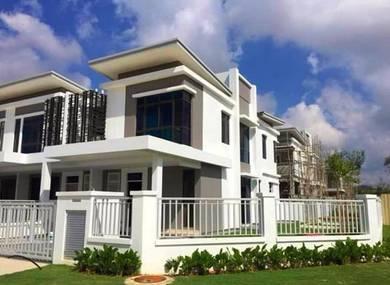 (HOC extend) SENAWANG Gated FREEHOLD 22x70 Terrace House Seremban Jaya