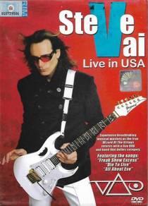 Steve Vai Live In USA DVD