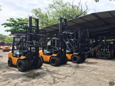 JAPAN DIRECT IMPORTED TOYOTA 3 ton DIESEL FORKLIFT