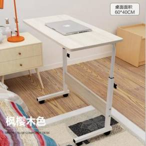 White lazy table bed side room portable desk 5